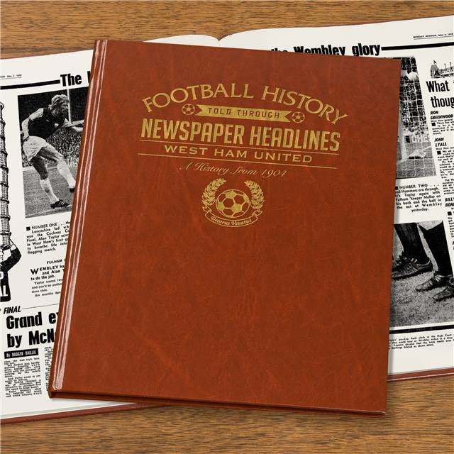 Personalised West Ham Football Newspaper Book - Personalised Gift Solutions - 7