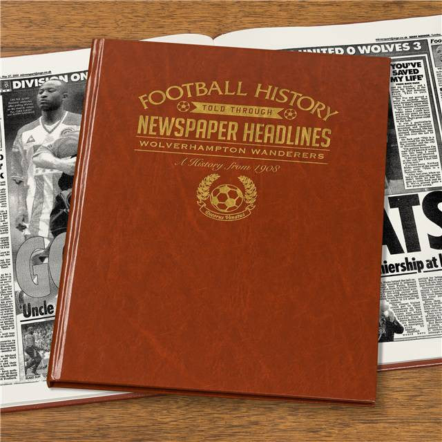 Personalised Wolves Football Newspaper Book - Personalised Gift Solutions - 7