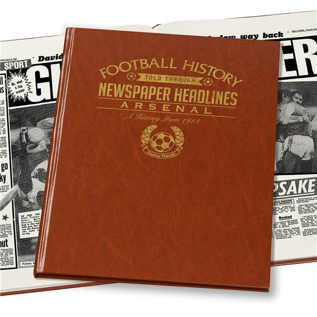 Personalised Arsenal Football Newspaper Book - Personalised Gift Solutions - 7