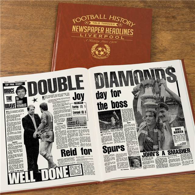 Personalised Liverpool Football Newspaper Book - Personalised Gift Solutions - 8