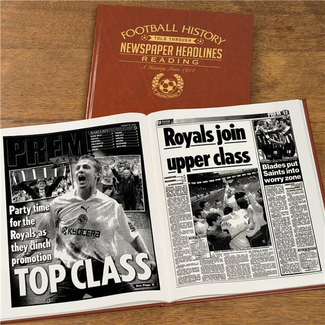 Personalised Reading Football Newspaper Book - Personalised Gift Solutions - 8