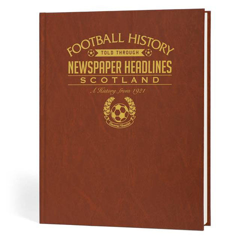 Personalised Scotland Football History Book