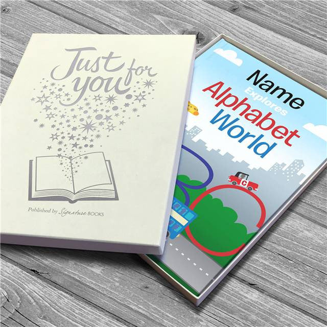 Personalised Alphabet World Book - Personalised Gift Solutions - 5