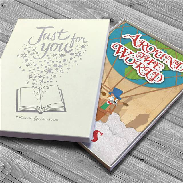 Personalised Around the World Story Book - Personalised Gift Solutions - 5