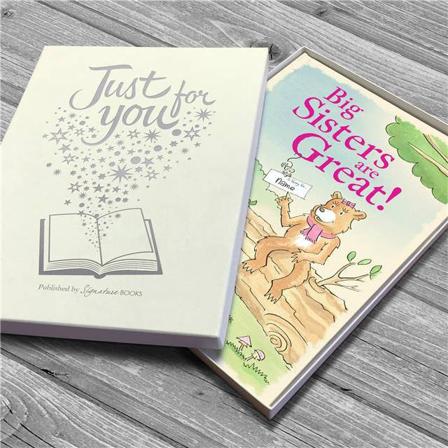 Personalised Big Sisters are Great Book - Personalised Gift Solutions - 5