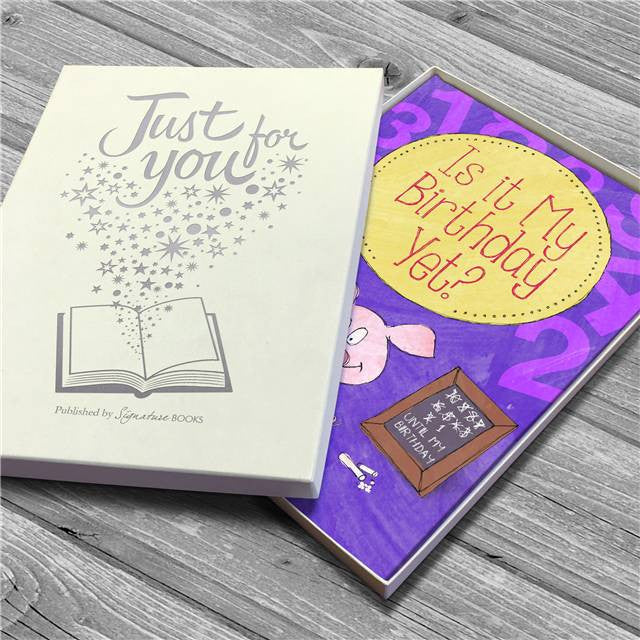 Personalised Is It My Birthday Yet Countdown Book - Personalised Gift Solutions - 5