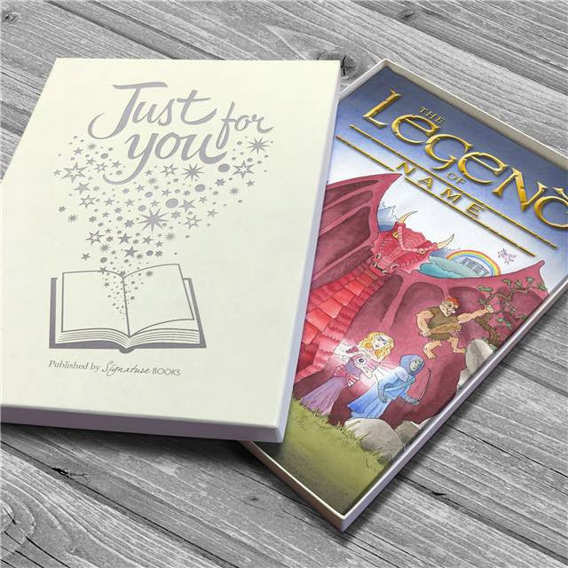 Personalised Legend of Your Name Book - Personalised Gift Solutions - 5