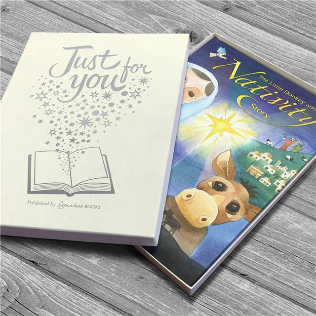 Personalised The Little Donkey and the Nativity Story Book - Personalised Gift Solutions - 5