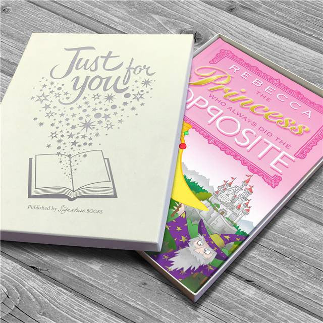 Personalised The Princess Who Always Did the Opposite Book - Personalised Gift Solutions - 6