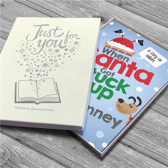 Personalised When Santa Got Stuck Up The Chimney Book - Personalised Gift Solutions - 5