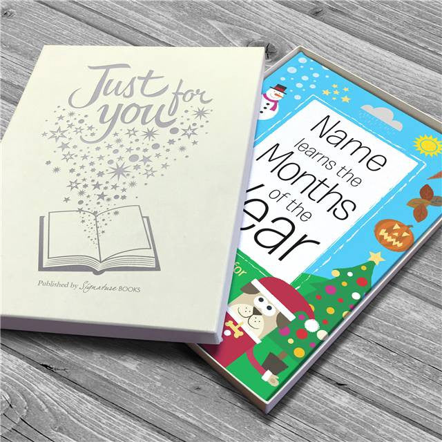 Personalised Months of the year Book - Personalised Gift Solutions - 5