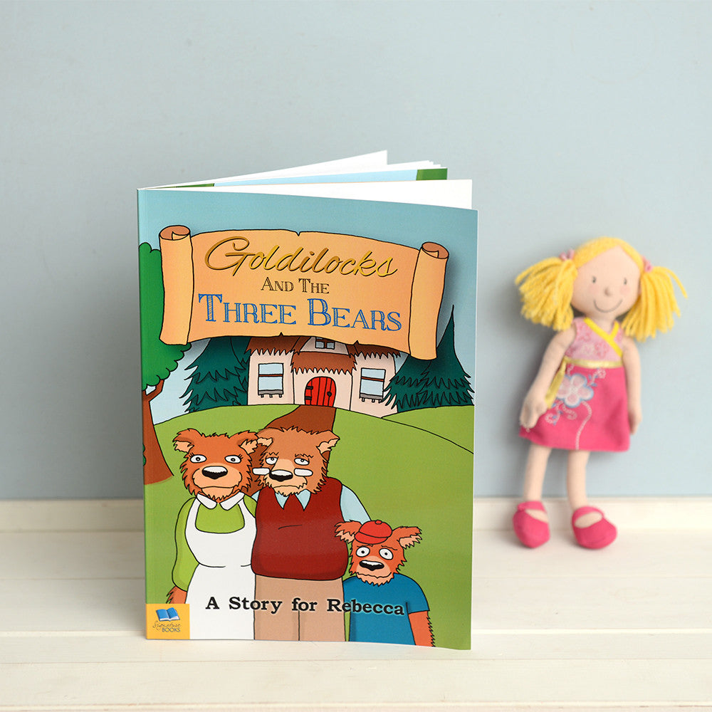 Personalised Goldilocks and Three Bears Book - Personalised Gift Solutions - 2