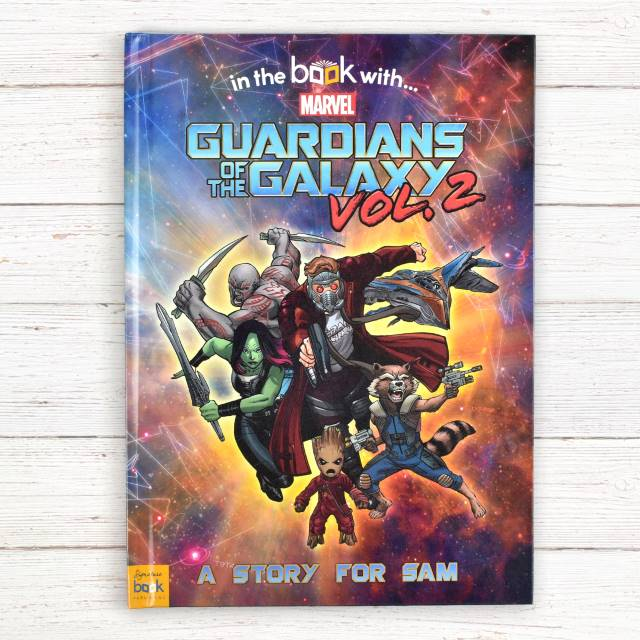 Guardians of the Galaxy Vol 2 - Personalised Marvel Book
