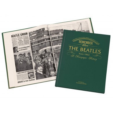 Personalised Beatles Newspaper Book - Personalised Gift Solutions - 4