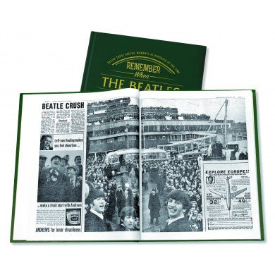 Personalised Beatles Newspaper Book - Personalised Gift Solutions - 2