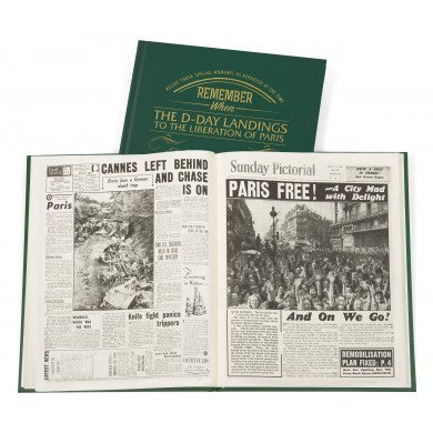 Personalised D – Day Landings Newspaper Book - Personalised Gift Solutions - 3