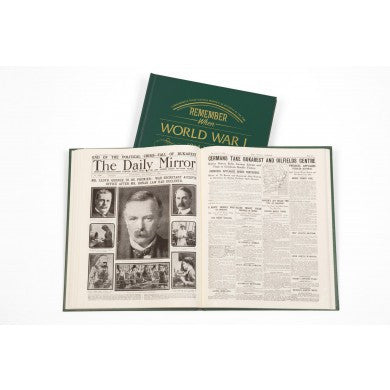Personalised WW1 Newspaper Book - Personalised Gift Solutions - 6