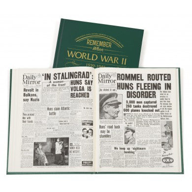 Personalised WW2 Newspaper Book - Personalised Gift Solutions - 5