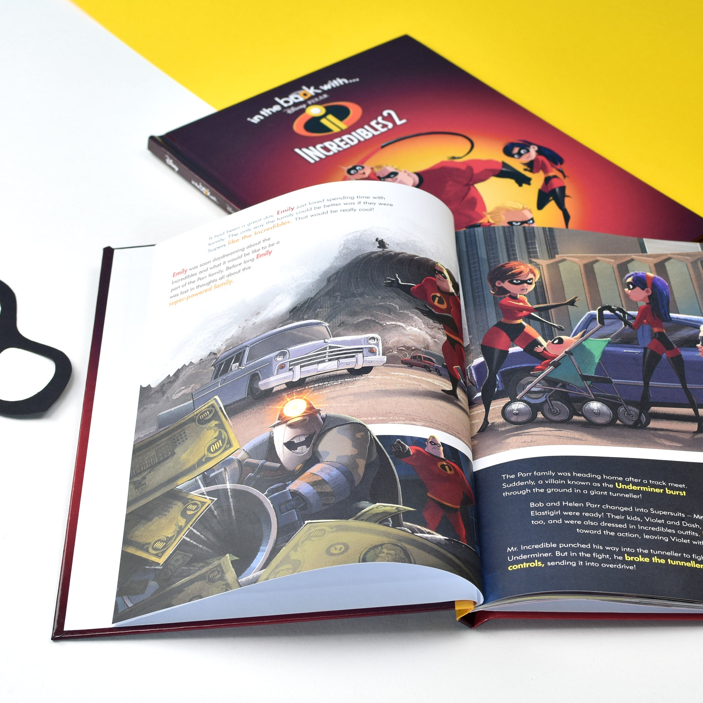 Personalised Disney Incredibles 2 Hardback Book