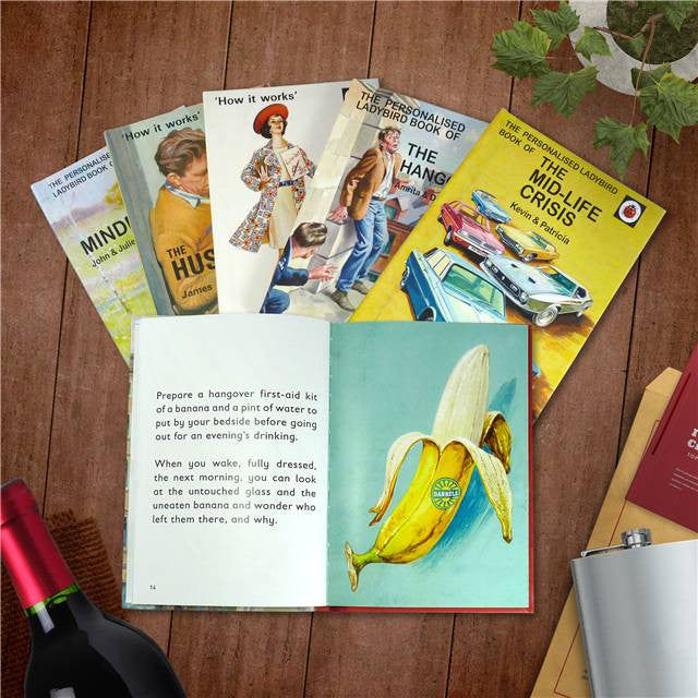 Personalised Ladybird Book - Dating