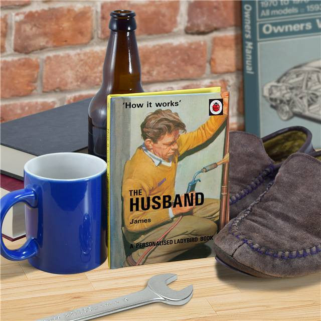 Personalised Ladybird Book - The Husband