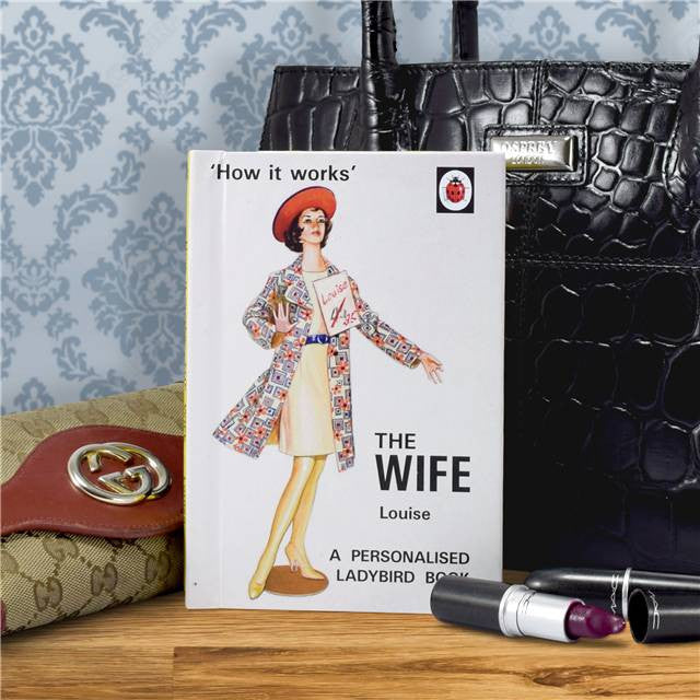 Personalised Ladybird Book - The Wife