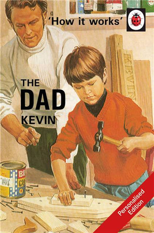 Personalised Ladybird Book - The Dad
