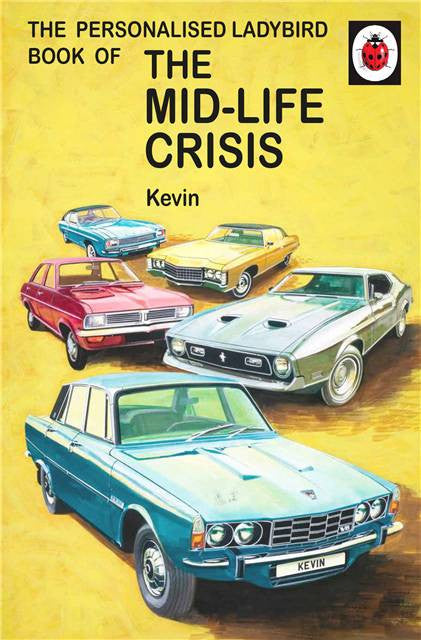 Personalised Ladybird Book - Mid-life Crisis
