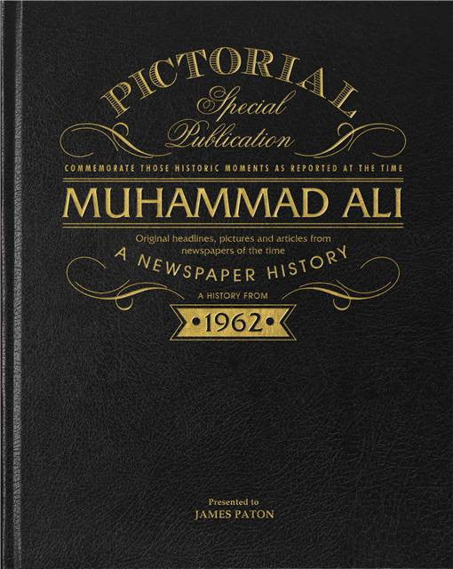 Personalised Muhammad Ali Luxury Newspaper Book - Personalised Gift Solutions - 7