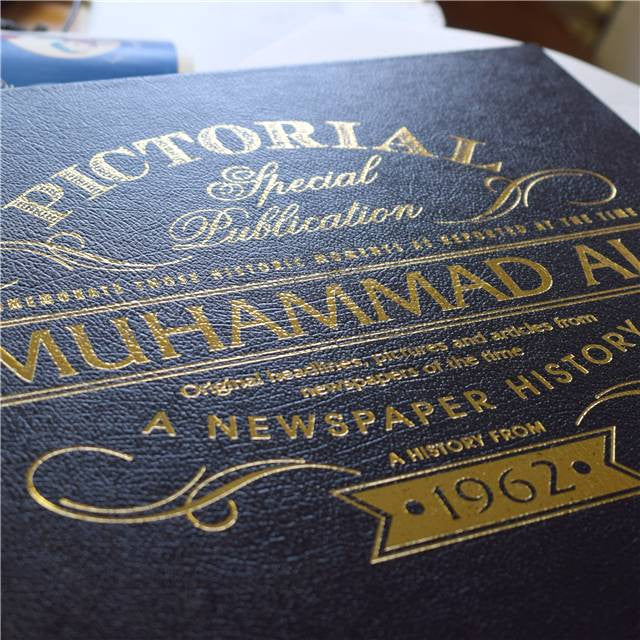 Personalised Muhammad Ali Luxury Newspaper Book - Personalised Gift Solutions - 3