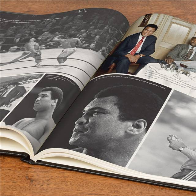 Personalised Muhammad Ali Luxury Newspaper Book - Personalised Gift Solutions - 4