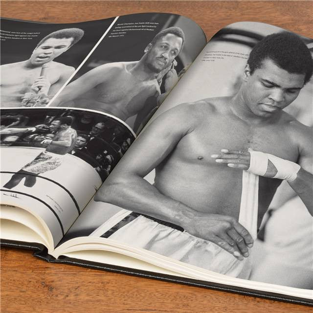 Personalised Muhammad Ali Luxury Newspaper Book - Personalised Gift Solutions - 6