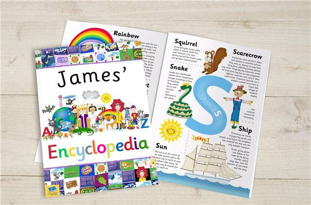 Personalised Children's Encyclopedia - Personalised Gift Solutions - 2