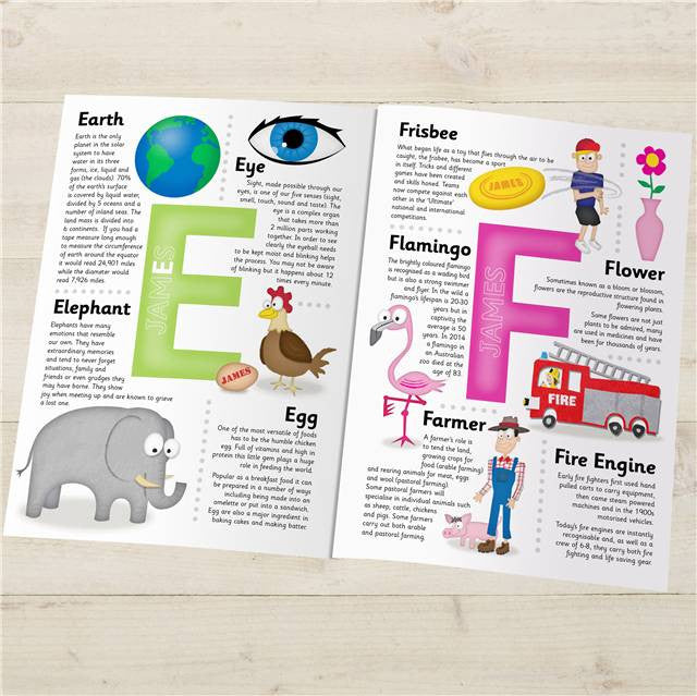 Personalised Children's Encyclopedia - Personalised Gift Solutions - 3