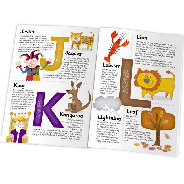 Personalised Children's Encyclopedia - Personalised Gift Solutions - 4