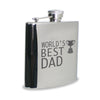 Personalised World's Best Dad Hip Flask - Personalised Gift Solutions - 1