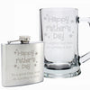 Personalised Happy Father's Day Stars Hip Flask - Personalised Gift Solutions - 3