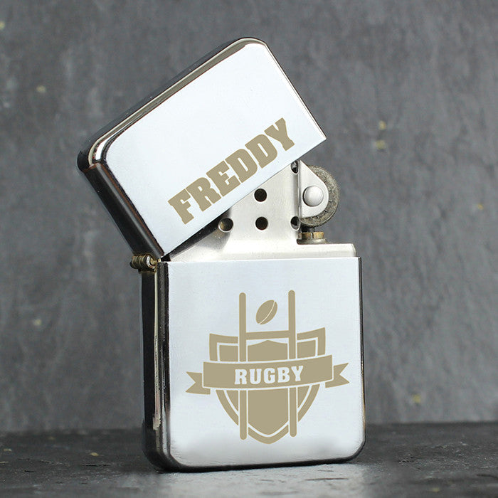 Personalised Rugby Lighter - Personalised Gift Solutions - 1