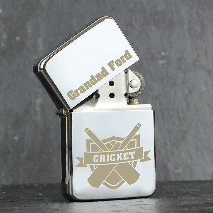 Personalised Cricket Lighter - Personalised Gift Solutions - 1