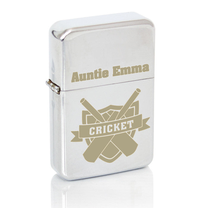 Personalised Cricket Lighter - Personalised Gift Solutions - 3