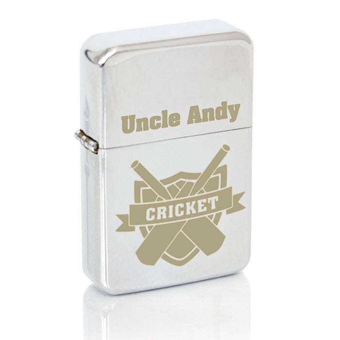 Personalised Cricket Lighter - Personalised Gift Solutions - 6