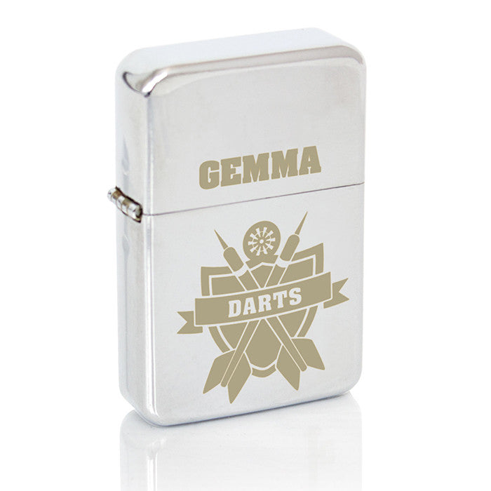 Personalised Darts Lighter - Personalised Gift Solutions - 6