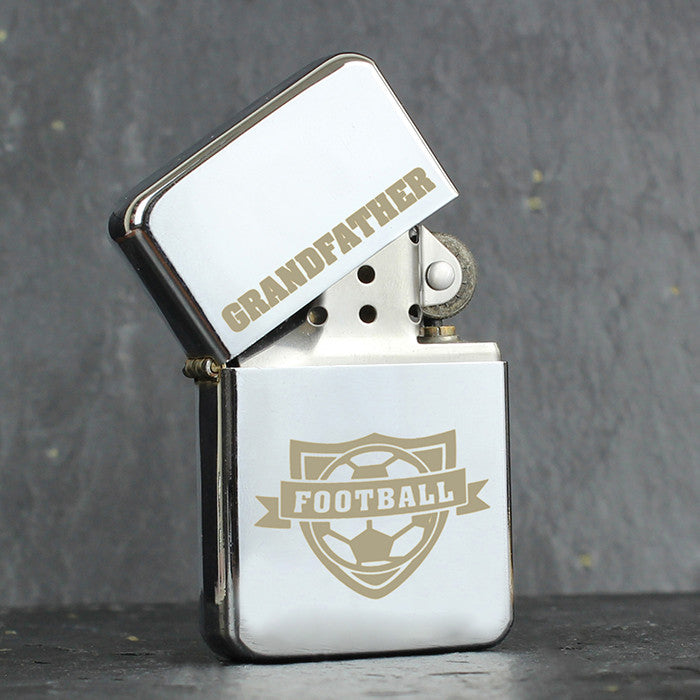 Personalised Football Lighter - Personalised Gift Solutions - 1
