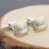 Personalised Gold Plated Cufflinks - Personalised Gift Solutions - 1