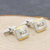 Personalised Gold Plated Cufflinks - Personalised Gift Solutions - 2