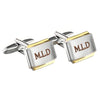 Personalised Gold Plated Cufflinks - Personalised Gift Solutions - 3