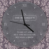 Personalised Kitchen Slate Clock - Personalised Gift Solutions - 2