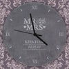 Personalised Mr & Mrs Slate Clock - Personalised Gift Solutions - 2