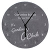 Personalised O'Clock Slate Clock - Personalised Gift Solutions - 5