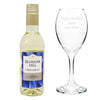 Personalised White Wine & Glass Gift Set - Personalised Gift Solutions - 1
